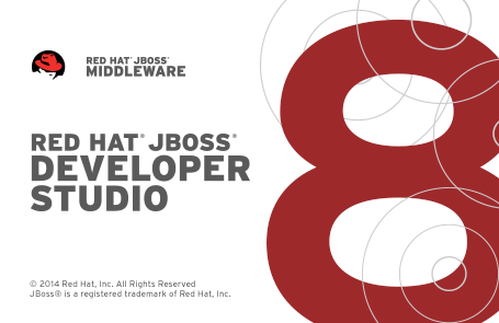 JBoss Developer Studio 8 Splashscreen