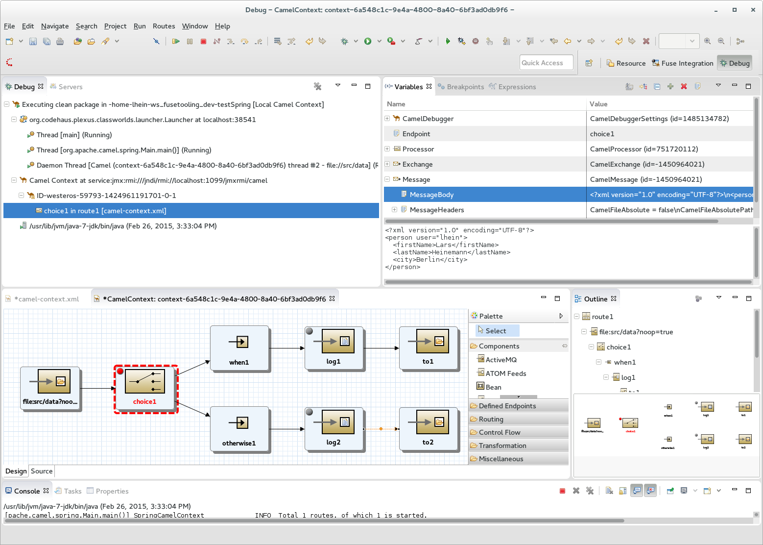 Jboss Tools Posts Tagged With Fuse Next Is The Itself I Will Include A Diagram Of Its Location In Debugger