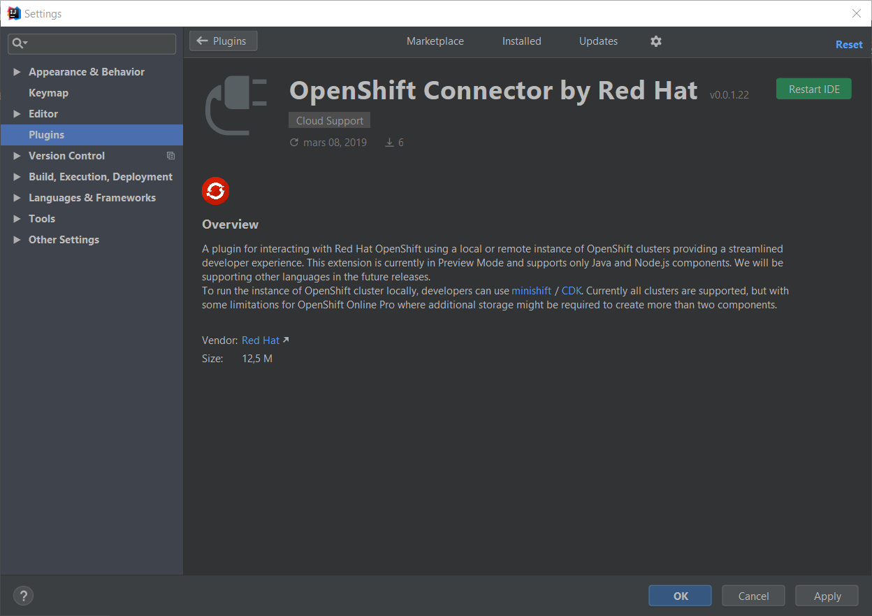 ij openshift connector2