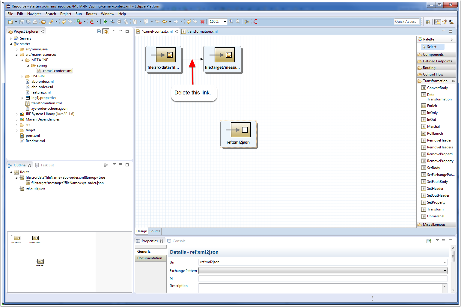 JBoss Tools - You want to transform data with Fuse ? - Part 1