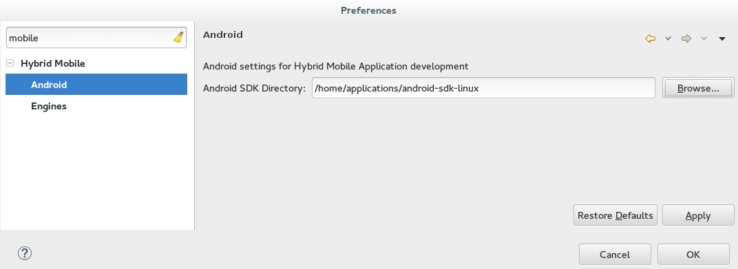 JBoss Tools - Create Your First Hybrid Mobile App