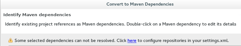 JBoss Tools - Basic Maven Configuration