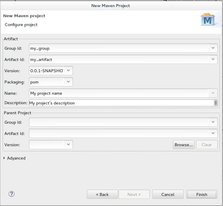JBoss Tools - Basic Maven Configuration