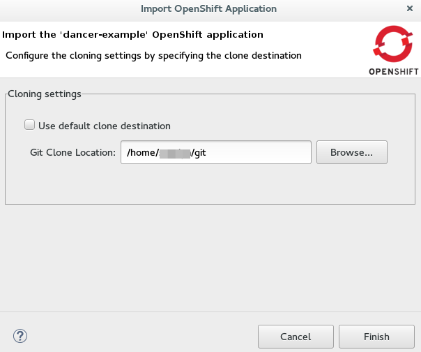 JBoss Tools - Create an OpenShift Application in the IDE