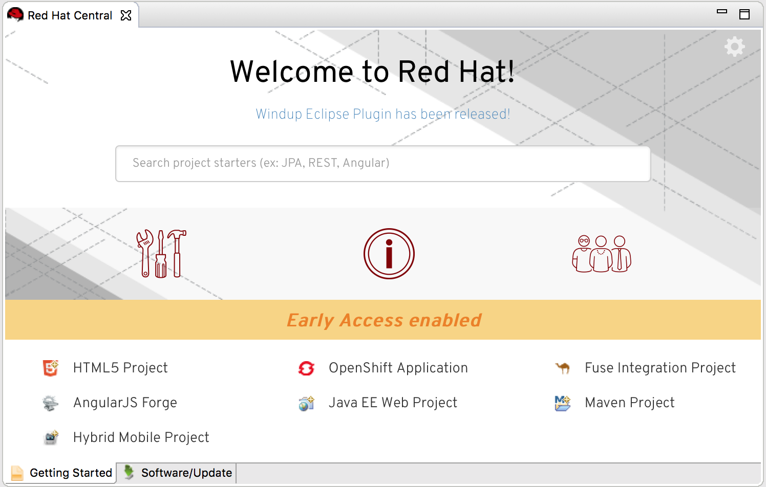 new red hat central 2017