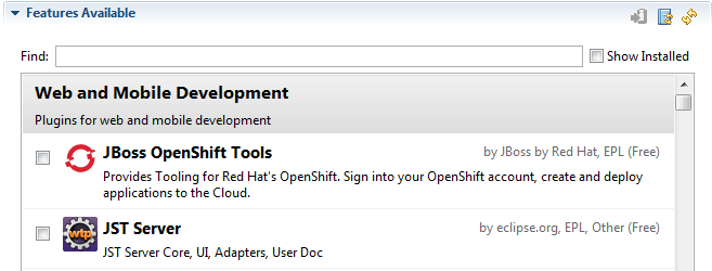 openshift discovery