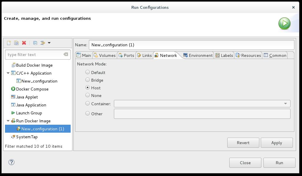 Network Mode Configuration