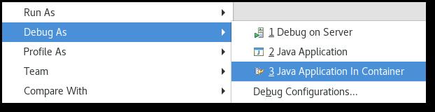 Docker-tooling-jdt-debug-menu