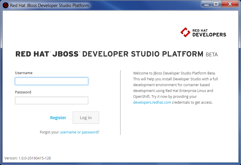 Red Hat JBoss Developer Studio Platform