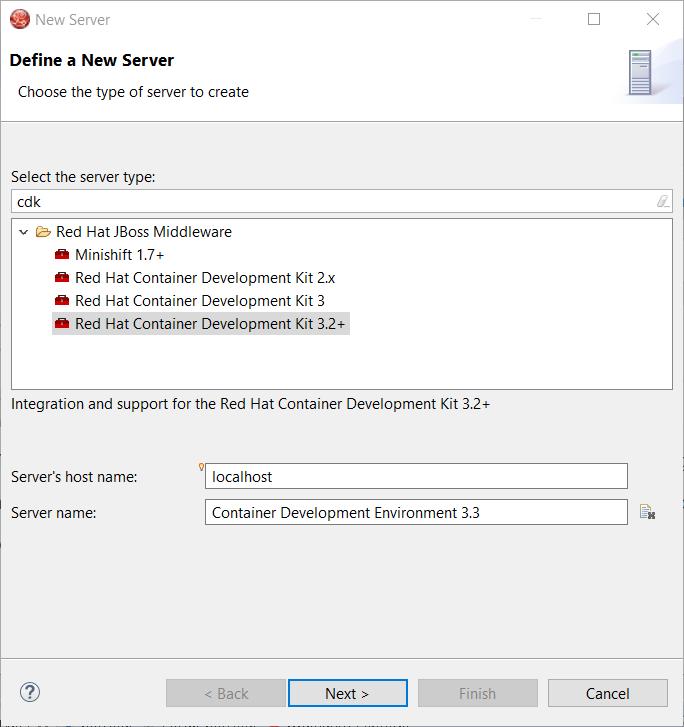 cdk server adapter wizard1