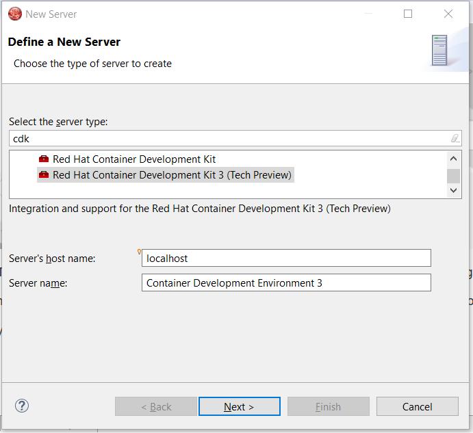 cdk3 server adapter