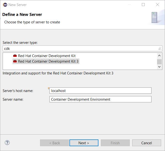 cdk3 server adapter5