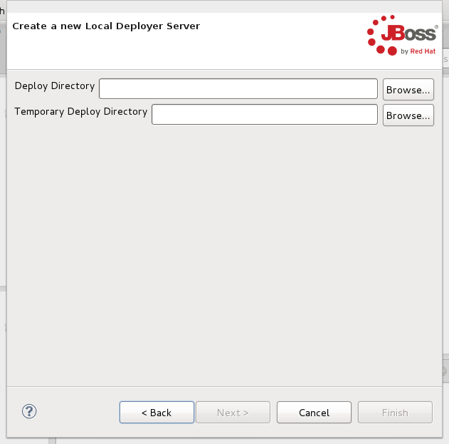 Configuring the Deploy-Only Server for local use