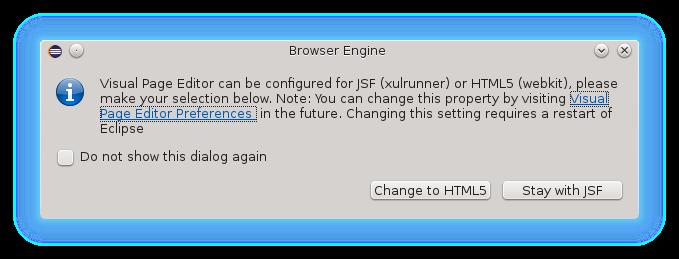 engine dialog