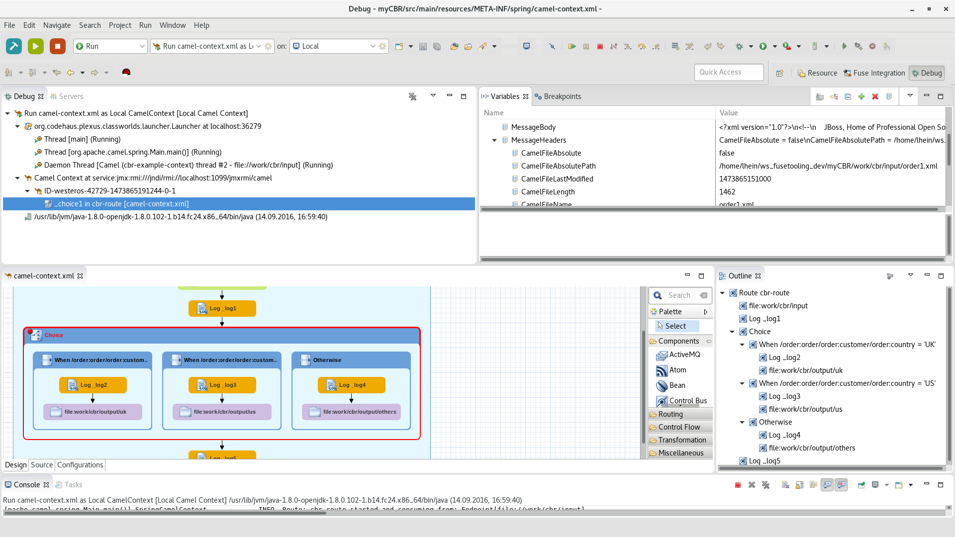 JBoss Tools - Fuse Tooling