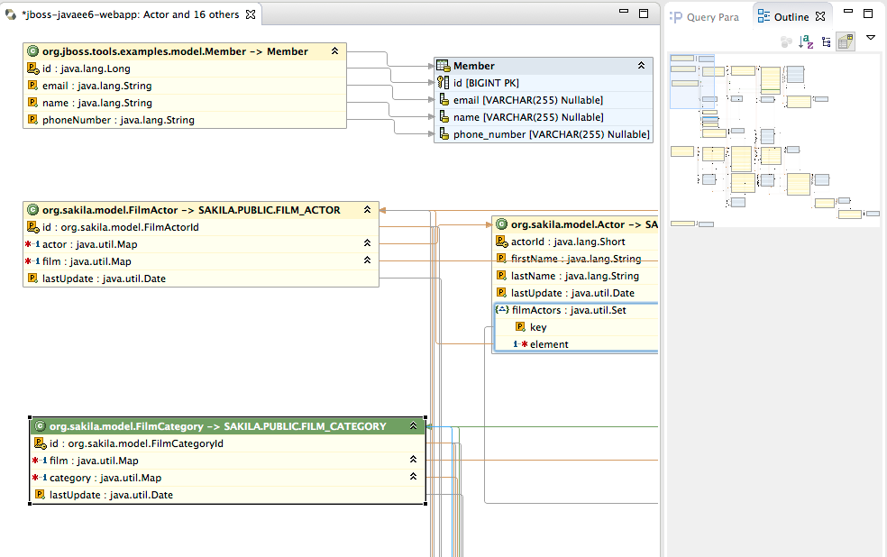 jboss tools   hibernate toolsvisualize your mappings