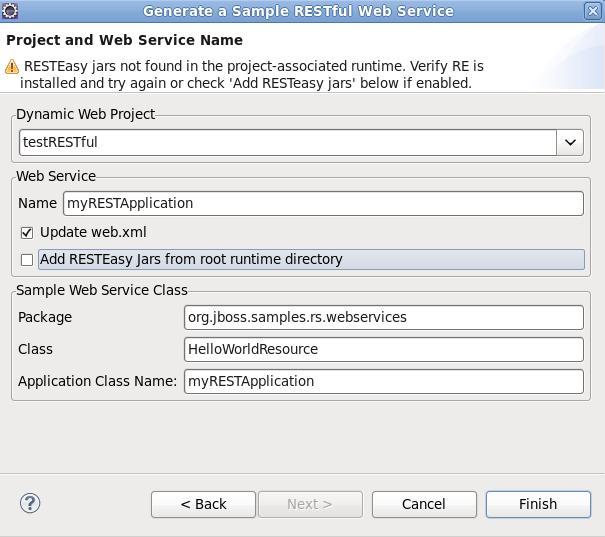 JBoss Tools - Web Services